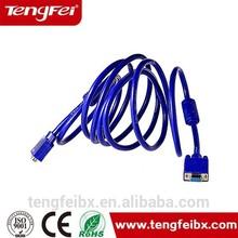 High quality Tengfei 15 pin db9 to vga cable