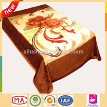 China Factory supply adult wholesaler fleece mongolia wool acrylic mink blanket