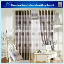 CUR BLACKOUT040 classic high qulity 3 pass jacquard blackout curtains quilt curtains