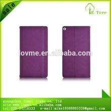 High Quality Luxury Tan Leather Case For Ipad Air 2 ipad 6 with Sleep Wake
