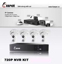 high quality cctv camera H.264 IP Security Cheap Home IP Security CCTV Camera NVR Kit