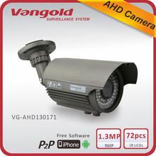1.3MP hd Outdoor Housing 70m Analog AHD Camera