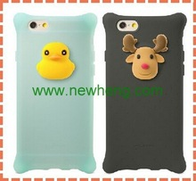 cell phone accessory glossy custom antishock case for iphone 6 plus