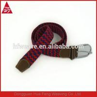 Wholesale braided elastic belt championship