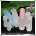 2015 novo produto marca própria OEM plástico 4 ML desodorante com roll on frasco cosmético