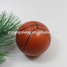 cheap mini plastic hanging basketball christmas decoration
