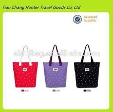 china supplier floral women's canvas shoulder bag