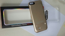 4200mah Rechargeable External Portable Backup Ultra Slim Battery Case for iPhone 6 Plus 5.5""