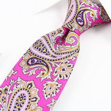Hot sale woven jaquard fine twill necktie