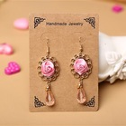 MYLOVE rose earring fashion jewelry drop earring fashion earring MLVE06