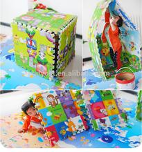 Cartoon EPE foam educational puzzle baby/kids puzzle play mat. foam puzzle mats
