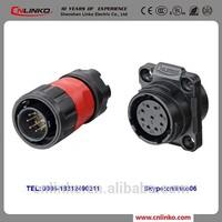 China IP67 Electric 9 pin Plug and Socket Automotive Connectors and Terminals