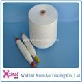 Comprar direto da china o vestuário de malha 40/2 usado vestido de noiva e roupas 100% poliéster fiado costura