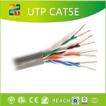 XINGFA 1000 ft pure copper black wire jacket 24awg standards cat5e lan cable/cat5e utp internet cable