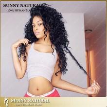 Brazilian virgin human hair natural curly hair wigs #1b kinky curl fall lace wig natural wig for black woman