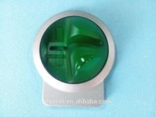 OEM custom black anodized&laser engraved cnc precision aluminum ATM part