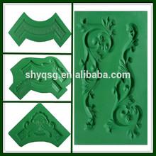 Fiberglass Plastic Mould Mold For Making Gypsum Decorative Ornaments Plaster Carving Flower