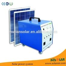 Off-grid portable Solar Power public charging station