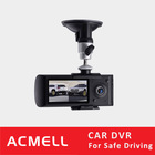 Exquisite X3000 Two Lens Full HD Radar Detector with Car DVR Cam