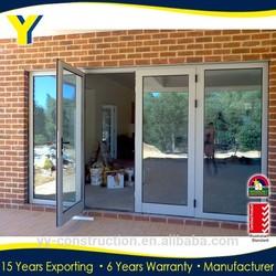 Australian standards Factory wholesale Double glazing thermal break Exterior Doors