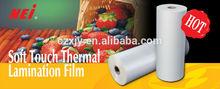 Soft Touch Film, best velvet effect,transparent,Polypropylene film, plastic film