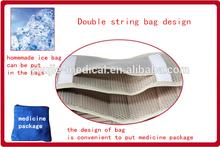 hot item breathable medical back support belt with bag