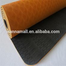 Folding comfortable wholesale eco friendly tpe yoga mat
