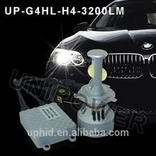 Hot sellingDC12-24V 3000 lumen led bulb light for Car/Motorcyle Super bright led headlight bulb h4, car led headlight h13