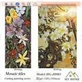 Murales de mosaico de vidrio de alta calidad para pared