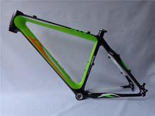 "26 er mountain bike frame carbon 17""/19"""