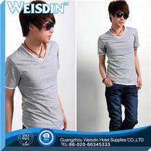 plain dyed manufacter polyester/cotton new fashion plain baby t shirt