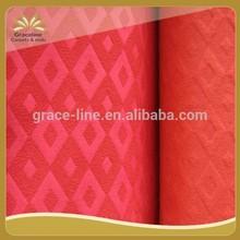 popular needle punched jacquard exhibition carpet double colors