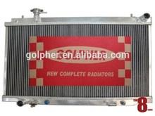 Cooling system Skyline 04-09 V35 / Stagea M35 ALUMINUM RADIATORS SILICON HOSES OIL-COOLER INTERCOOLER