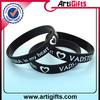 2015gold supplier 100% quality control fashional black wristbands