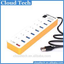 Top grade 5Gbps 8 Port USB 3.0 HUB 8 port usb hub fine hub