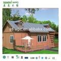 Wpc de baixo carbono casas móveis