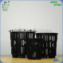Kailai hydroponics growing net pot on sale black plastic nursery pots greenhouse