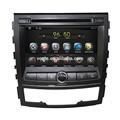 Android 4.4.2 Rockchip A9 de doble núcleo del coche Dvd con Gps sistema de navegación para Korando 2012