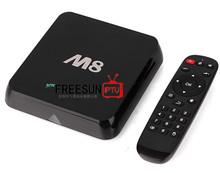 Android 4.4 KitKat 4K M8 tv box Amlogic S802 XBMC 2GB RAM 8GB ROM smart tv box