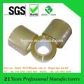 1.5 pulgadas núcleo de papel de bopp cinta adhesiva transparente& pequeña cinta de embalaje( iso/sgs aprobado)