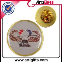 antique custom made printing national flag lapel pins