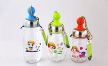 summer hot sale BPA free water bottles Sports plastic foldable water bottle for logo printing