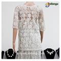 sexy design 2015 para o vestuário de verão das senhoras atacado animal print blusa