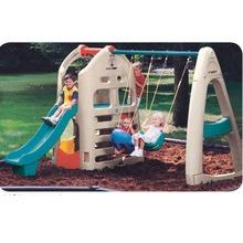 plastic outdoor backyard children swing playsets