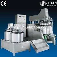 1000L laboratory high shear emulsifier,automatic cream tilting vacuum homogeneous emulsifying mixer
