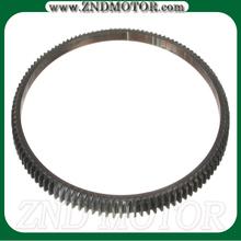 Steel ring gear flywheel