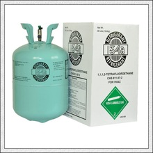 refrigerant gas r134a for air conditioning with 99.9% purity