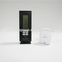 OEM digital weather forecast lcd clock with sensor