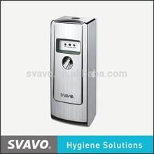 Batteries powered Essential Oils aerosol air freshener for toilet ,room,car hotel VX485
