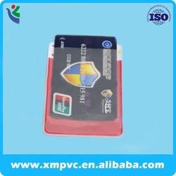 lovely portable plastic business cardholder XYL-V-CC011